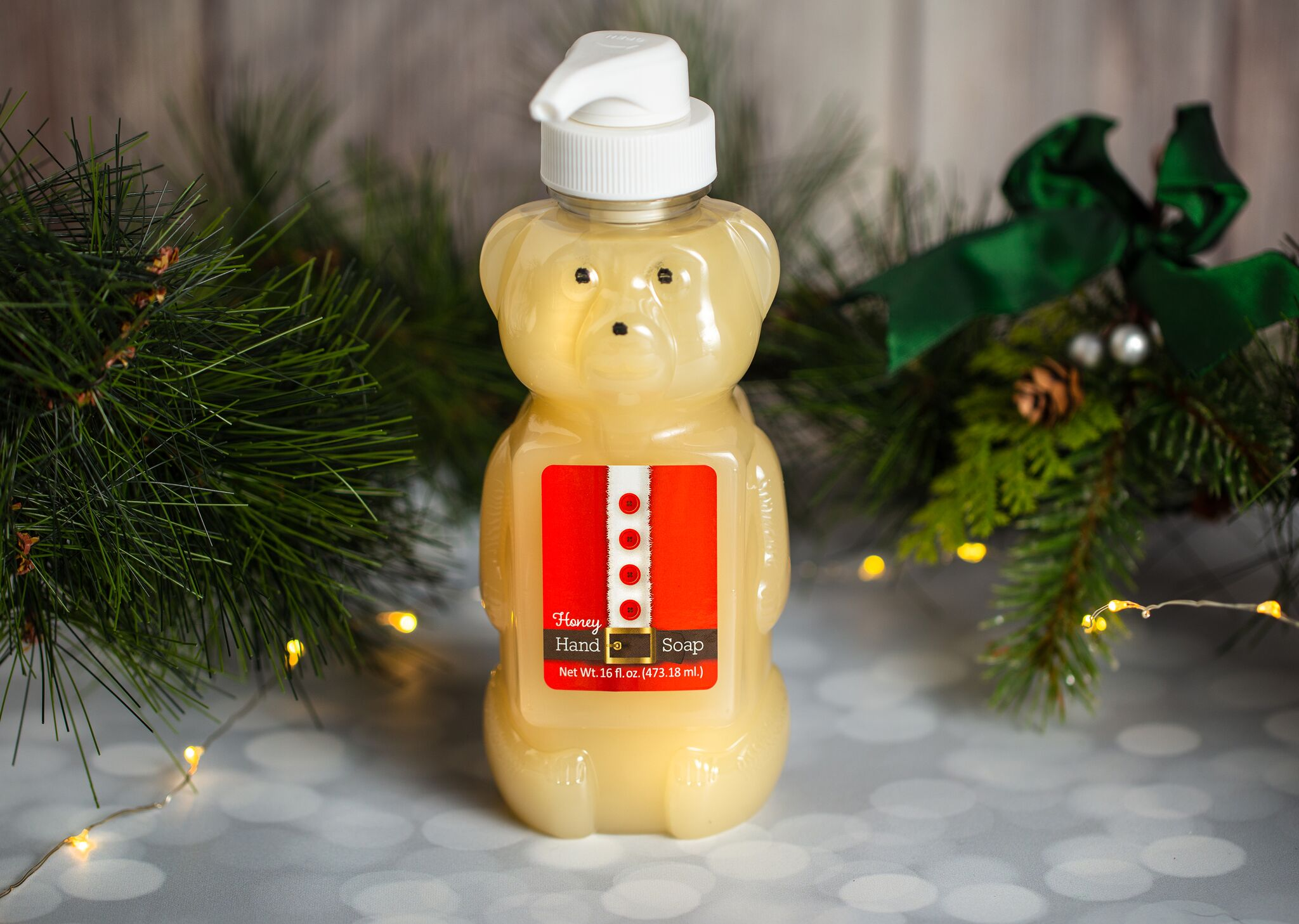 HONEY BEAR MILK AND HONEY LIQUID HAND SOAP