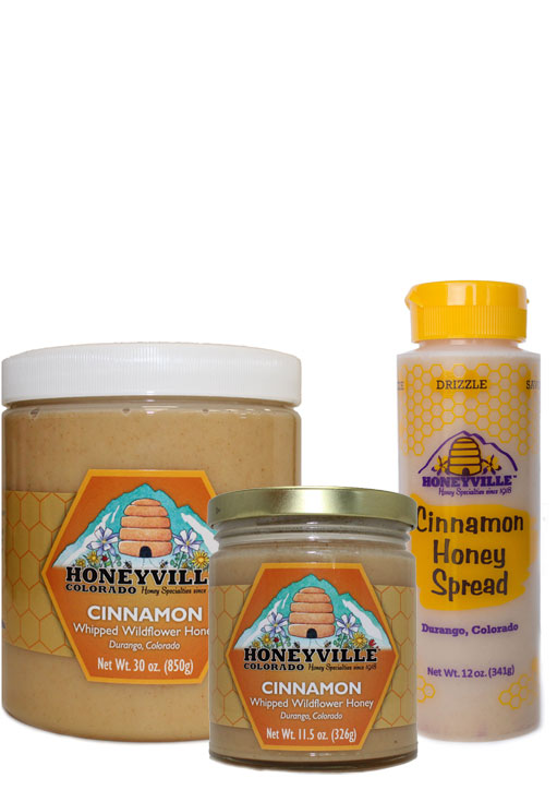CINNAMON WHIPPED HONEY - CINNAMON  SQUEEZE HONEY