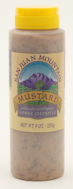 SAN JUAN MUSTARD: HONEY CHIPOTLE