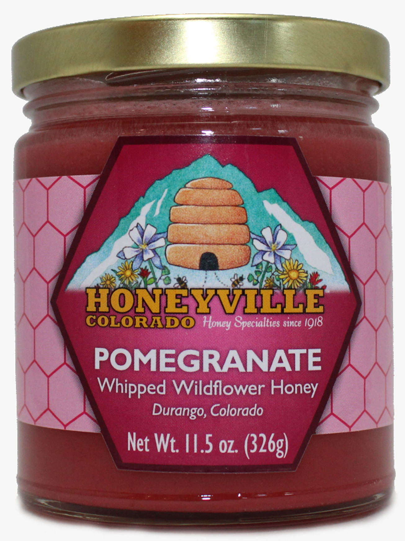 POMEGRANATE WHIPPED HONEY, Whipped Honey: Store Name