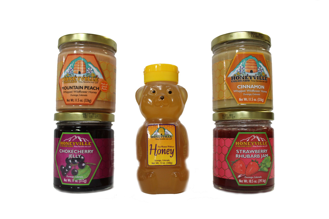 """SELECT YOUR OWN"" FOUR JARS PLUS HONEYBEAR GIFT BOX"