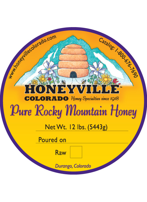BULK HONEY : 12 LB HONEYVILLE HONEY