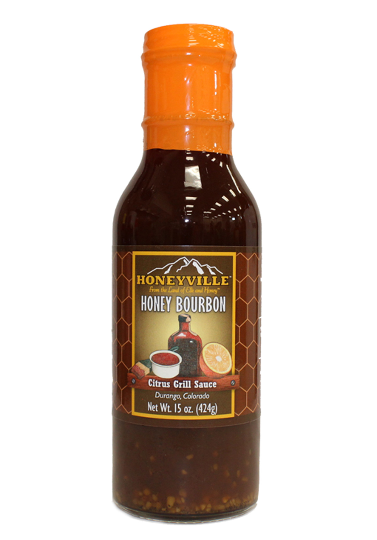 HONEY BOURBON CITRUS GRILL SAUCE
