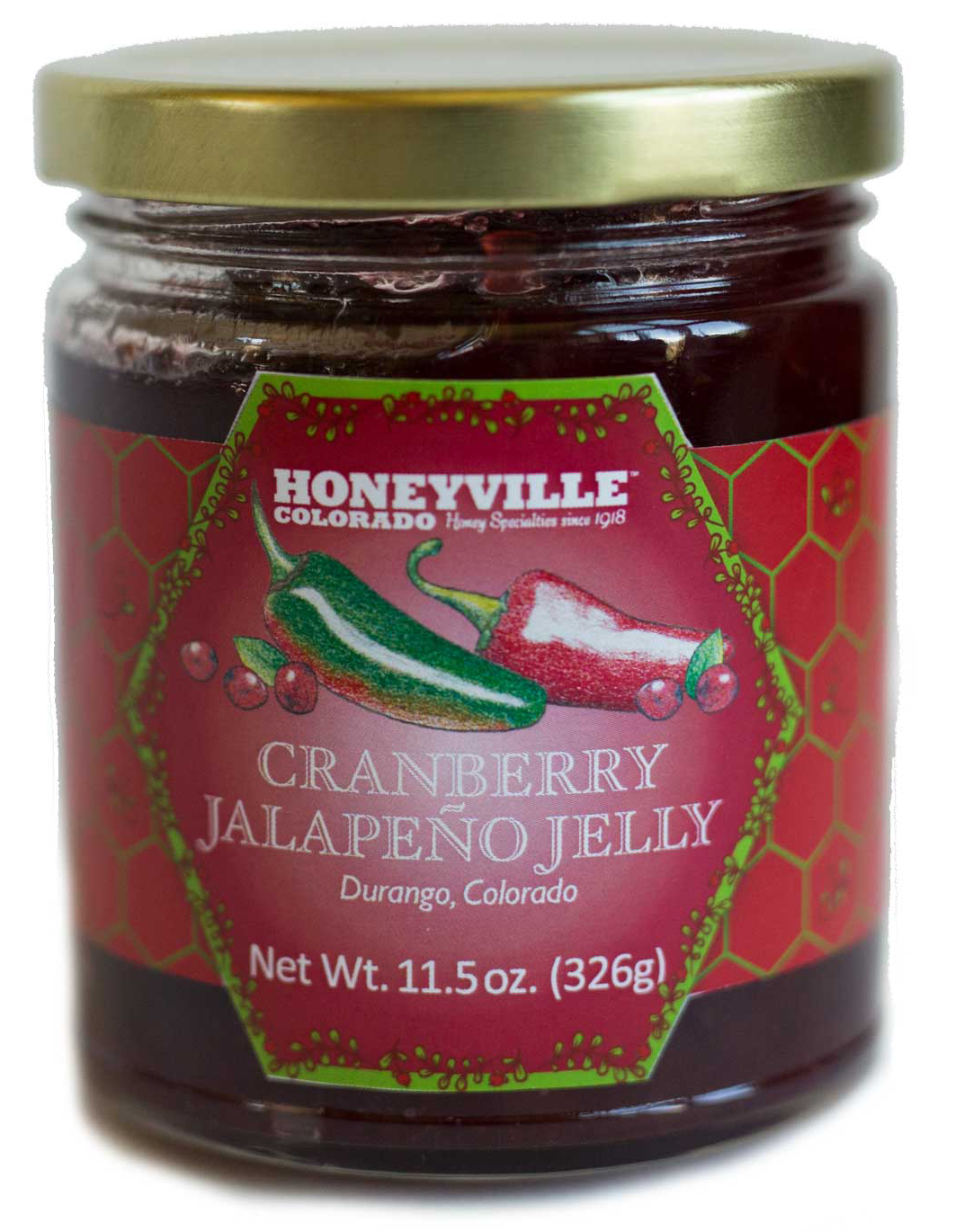 CRANBERRY JALAPENO JELLY
