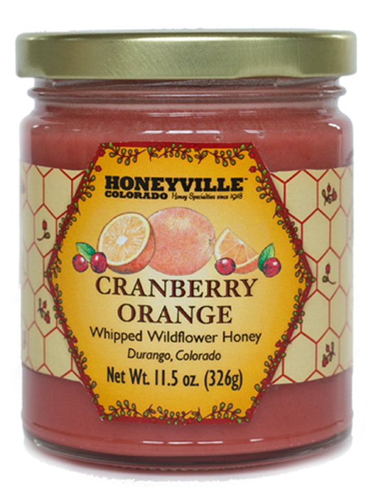 WHIPPED HONEY: CRANBERRY ORANGE