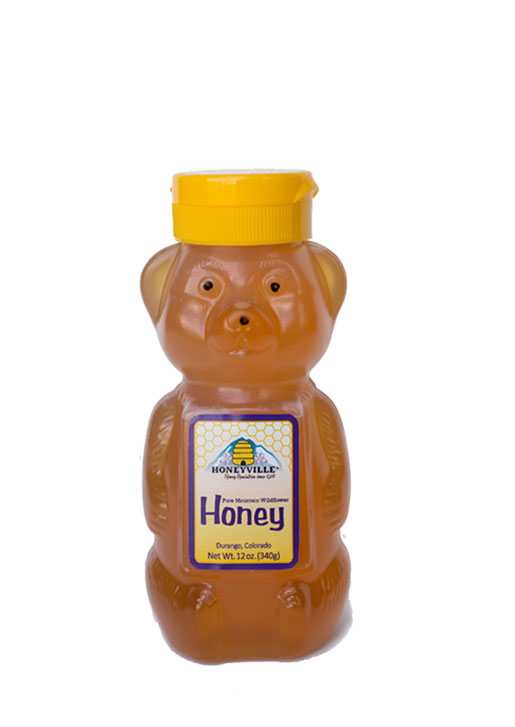 BABY BEAR: MOUNTAIN WILDFLOWER HONEY 12 OZ