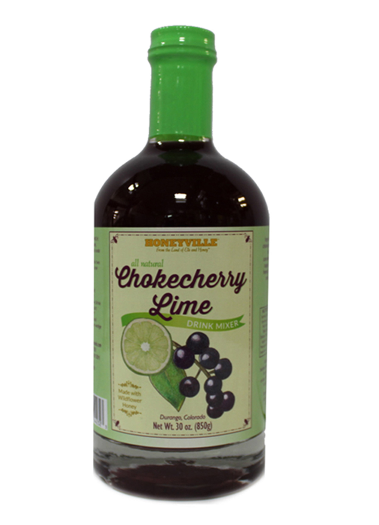CHOKECHERRY LIME DRINK MIXER 30 oz LG