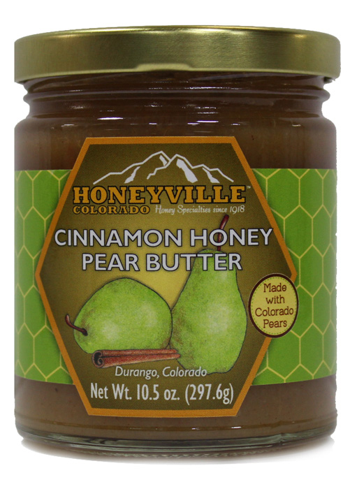 CINNAMON HONEY PEAR BUTTER 10.5 OZ