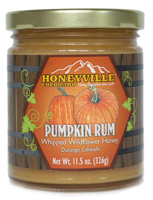 PUMPKIN RUM WHIPPED HONEY