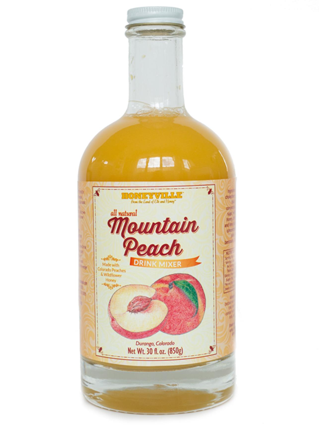 MOUNTAIN PEACH DRINK MIXER 30 oz LG