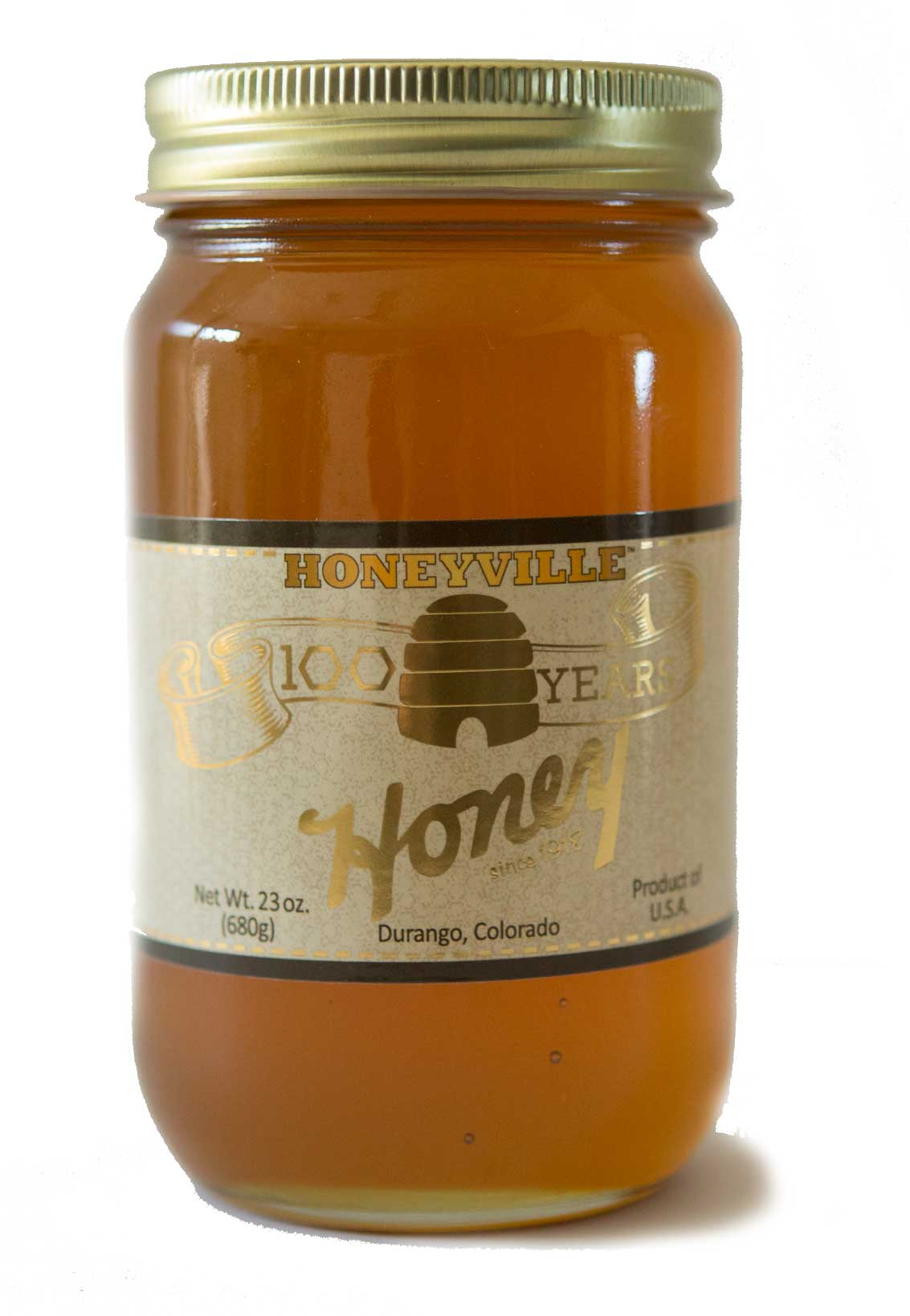 100 Year Anniversary: MOUNTAIN WILDFLOWER HONEY 23 OZ