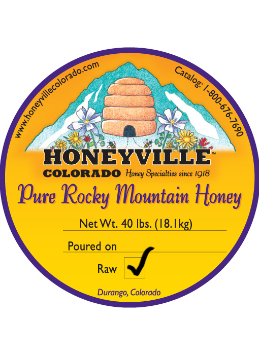 RAW HONEY 40lb BUCKET