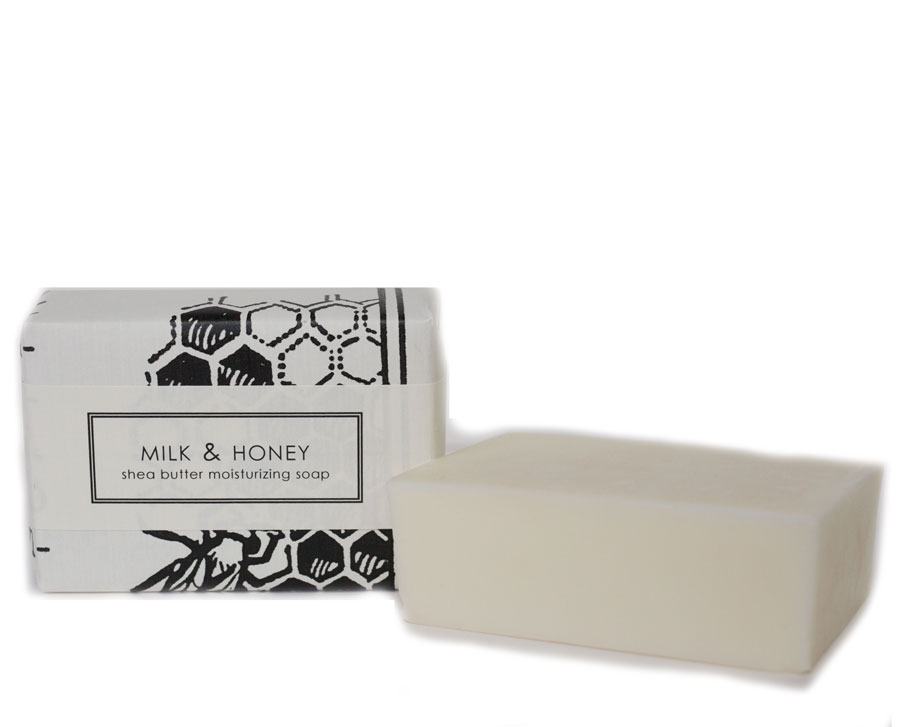 BAR SOAP: MILK & HONEY