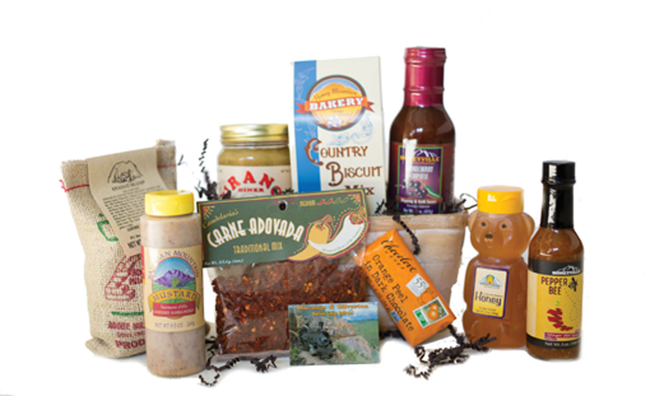 GIFT BASKET:  SPICY COLORADO
